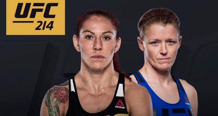 UFC 214: Cris Cyborg vs Tonya Evinger Featherweight Championship