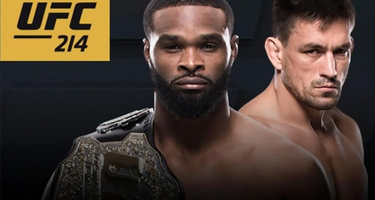 UFC 214 Gets 3rd Title Fight; Woodley vs Maia Set For Anaheim