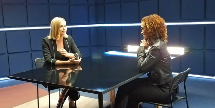 "Oscar Winner Charlize Theron Talks With Karyn Bryant About ""Atomic Blonde"" And Her Love Of The UFC"
