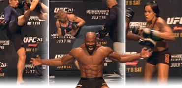 UFC 213 + TUF Finale Workouts - Nunes - Shevchenko - Romero - Whittaker - Johnson - Gaethje (LIVE!)