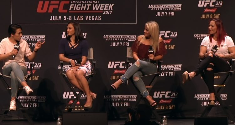 Women Of UFC Panel - Olivi - Jedrzejczyk - Cyborg - Waterson - VanZant (LIVE!)