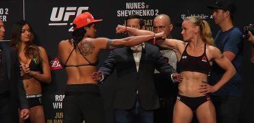 UFC 213: Amanda Nunes vs Valentina Shevchenko 2 - Ceremonial Weigh-Ins (LIVE!)