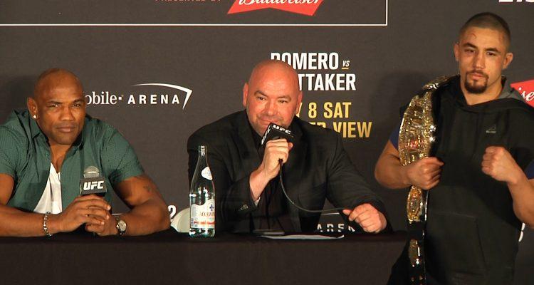 UFC 213 Post-Fight Presser: Interim Champ Whittaker, Romero, White, Overeem, Pettis (LIVE!)