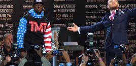 Mayweather vs McGregor To Be Presented Live In US Cinemas Saturday, August 26
