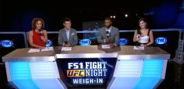 UFC Fight Night Long Island: Weidman vs Gastelum Official Weigh-in