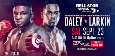 Paul Daley vs Lorenz Larkin added to Bellator 183 on 9/23 in San Jose