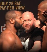 UFC 214: Cormier vs Jones 2 / Woodley vs Maia / Cyborg vs Evinger Weigh-Ins (LIVE! / FULL)