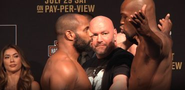 UFC 214: Cormier vs Jones 2 / Woodley vs Maia / Cyborg vs Evinger Weigh-Ins (LIVE! / FULL)