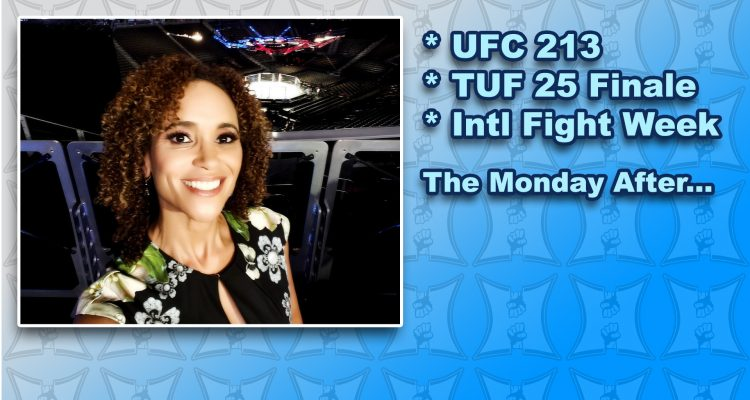 MMA H.E.A.T. Podcast #123 (LIVE): UFC 213 / TUF 25 Finale / International Fight Week Wrap-Up