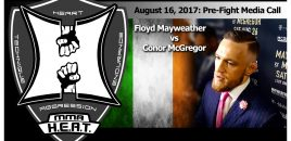 Conor McGregor: Mayweather vs McGregor Pre-Fight Conference Call (FULL)