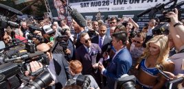 Mayweather / McGregor Grand Arrivals (photos)