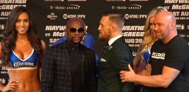 Floyd Mayweather vs Conor McGregor Final Pre-Fight Press Conference (Las Vegas / HD / Full)