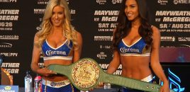 "Mayweather vs McGregor Winner Gets ""Money Belt"" With Diamonds, Sapphires, Emeralds + Solid 24K Gold!"