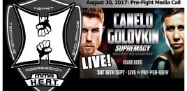 "Canelo Alvarez vs Gennady ""GGG"" Golovkin Pre-Fight Conference Call (LIVE! / FULL)"