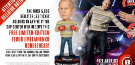 Bellator MMA To Give Away Free Limited Edition Fedor Emelianenko Bobbleheads