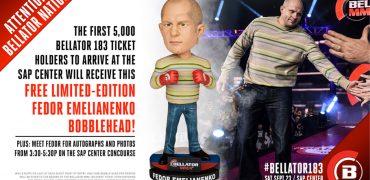 Bellator MMA To Give Away Free Limited Edition Fedor Emelianenko Bobbleheads