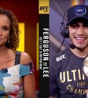 UFC 216: Interim Champ Tony Ferguson Talks About Win Over Lee And Wanting McGregor Next