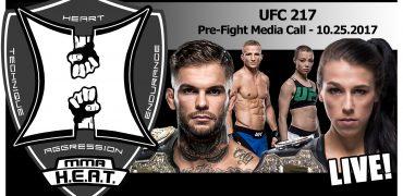 UFC 217: Cody Garbrandt / TJ Dillashaw + Joanna Jedrzejczyk / Rose Namajunas - Media Call (LIVE!)