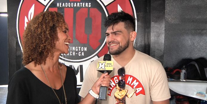 UFC's Kelvin Gastelum Admits He Freaked Out A Little When Anderson Silva Fight Was Offered