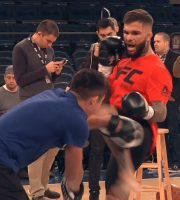 UFC 217: Champ Cody Garbrandt Shows Off Skills At Open Workout Before Fighting TJ Dillashaw