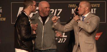 UFC 217 Pre-Fight Presser With Michael Bisping, GSP, Cody Garbrandt, TJ Dillashaw, Joanna Jedrzejczyk, Rose Namajunas + Dana White