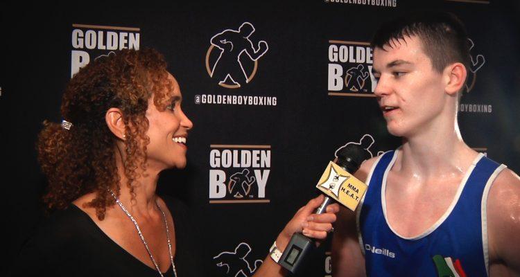 Irish Boxing Sensation Aaron McKenna Talks Pro Debut At MSG + Conor McGregor's Impact