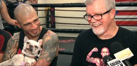 WBO Champ Miguel Cotto + Freddie Roach Discuss Retirement Fight Against Sadam Ali (Spanish/English)