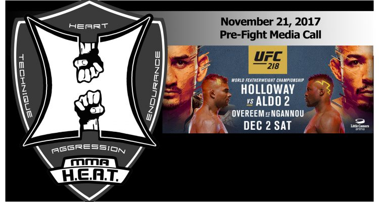 UFC 218: Max Holloway vs Jose Aldo 2 Pre-Fight Media Call