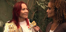 UFC Champ Cris Cyborg Talks Colby Covington vs Brazil + Gives Update On Magana Legal Battle