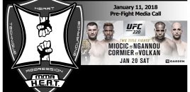 UFC 220: Miocic vs Ngannou + Cormier vs Volkan Pre-Fight Media Call