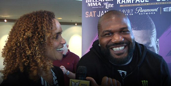 Rampage Jackson Talks Chael Fight, Bellator Contract, No Ketchup + His A-Hole Dog
