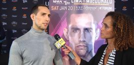 Rory MacDonald Talks Bellator 192 Title Fight With Lima, Potential Gegard Mousasi Match-Up