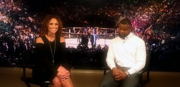 UFC Champ Tyron Woodley Talks Training Floyd Mayweather + Next Title Defense