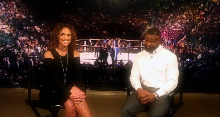 UFC Champ Tyron Woodley Talks Training Floyd Mayweather + Next Title Defense
