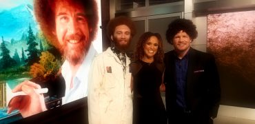 """TUF 27's Luis Pena (AKA """"Violent Bob Ross"""") Plays Pictionary With Karyn Bryant And Michael Bisping On """"TUF Talk"""""""