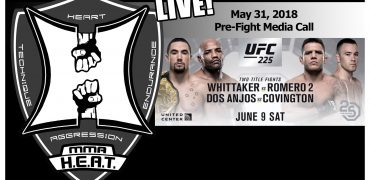 UFC 225: Whittaker vs Romero 2 + Dos Anjos vs Covington Pre-Fight Media Call (LIVE!)