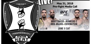 UFC 225: Whittaker vs Romero 2 + Dos Anjos vs Covington Pre-Fight Media Call (LIVE!)