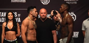 TUF 27 Finale Weigh-ins: Tavares vs Adesanya, Trizano vs Giannetti, Cucciniello vs Katona + More!