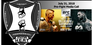 UFC 227: Dillashaw vs Garbrandt 2 + Johnson vs Cejudo 2 Pre-Fight Media Call