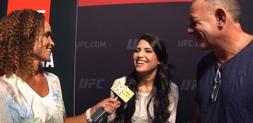 UFC 227: Polyana Viana Talks Match-Up With JJ Aldrich, Proving Herself To UFC Fans