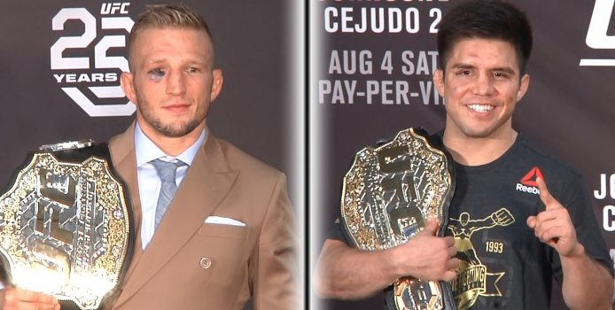 UFC 227 Post Fight Press Conference: Dana White, Champ Henry Cejudo, Champ TJ Dillashaw (LIVE!)