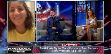Pannie Kianzad Talks TUF 28 Win Over Katharina Lehner With TUF Talk's Karyn Bryant + Michael Bisping