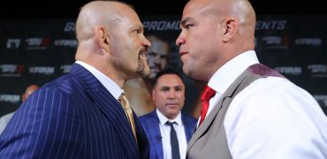 Chuck Liddell vs Tito Ortiz 3 Las Vegas Press Conference