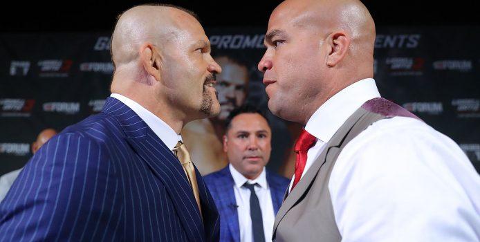 Chuck Liddell vs Tito Ortiz 3 Las Vegas Press Conference