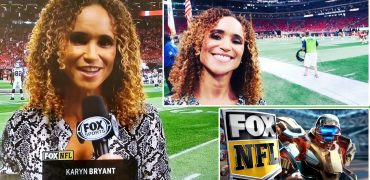 Karyn Bryant Reports From The Sidelines In Her NFL On FOX Debut!
