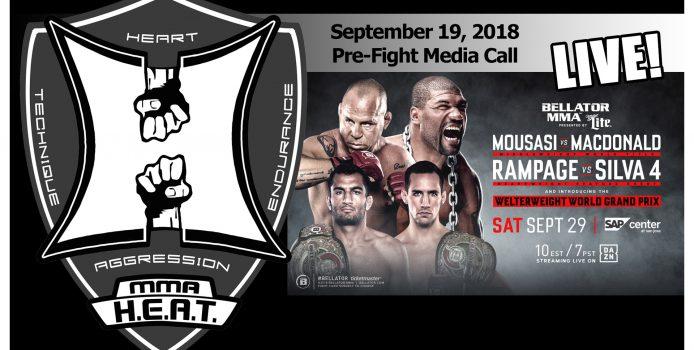 Bellator 206: Mousasi vs MacDonald + Rampage vs Wanderlei 4 Pre-Fight Media Call