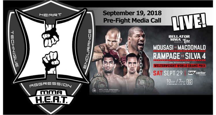 Bellator 206: Mousasi vs MacDonald + Rampage vs Wanderlei 4 Pre-Fight Media Call