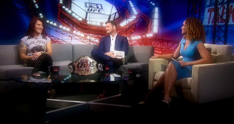 UFC Featherweight Champ Cris Cyborg Talks TUF 28 With Karyn Bryant And Michael Bisping