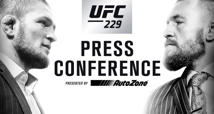 UFC 229 Khabib vs McGregor NYC Press Conference (official video)