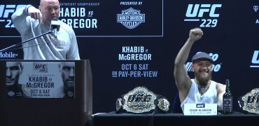 UFC 229: Conor McGregor Holds A Solo Press Conference After Khabib Decides Not To Wait